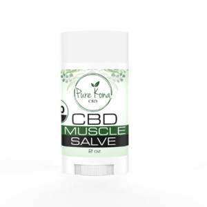 CBD Muscle Salve 2 oz